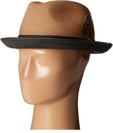 Stacy Adams Polybraid Fedora with Two-Tone Band