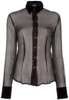 Dolce & Gabbana sheer silk shirt