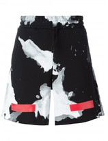Off-White abstract print shorts
