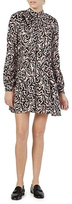 Joie Zariah Printed Long-Sleeve Dress