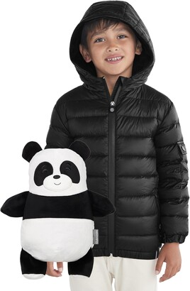 Cubcoats Papo 2-in-1 Stuffed Animal & Hooded Down Jacket