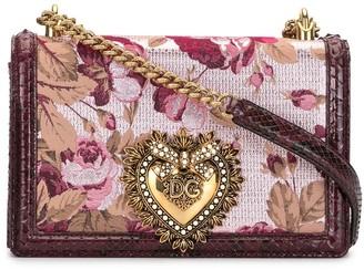 Dolce & Gabbana Devotion jacquard ramage bag