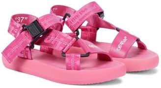 Off-White Logo sandals