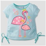 Gerber Graduates® Toddler Girls' Flamingo Top - Light Blue