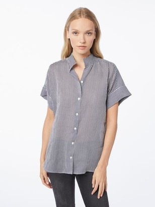 Frame Short Sleeve Clean Collared