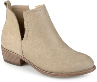 Journee Collection Rimi Split Side Bootie - Wide Width