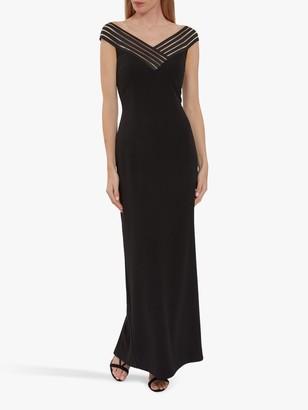 Gina Bacconi Ismeria Strap Detail Maxi Dress