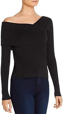 Line & Dot Line + Dot Sylvie Asymmetric Sweater