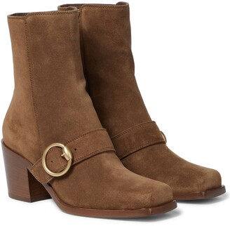 Gianvito Rossi Wayne suede ankle boots