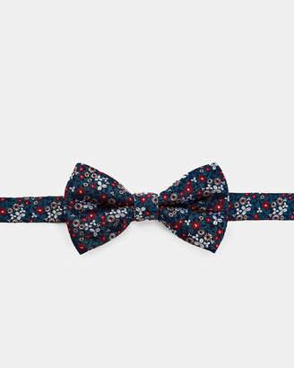 Ted Baker FARMBOW Mini floral silk bow tie