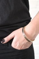 Low Luv by Erin Wasson Zig Zag Bangle in Bronze