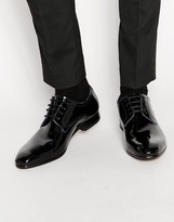 Ted Baker Billay Leather Derby Shoes - Black