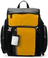 Fpm – Fabbrica Pelletterie Milano double buckle backpack