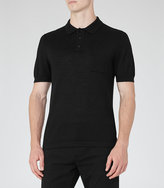 Reiss Hendrick Mottled Polo Shirt