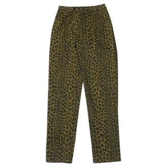 Fendi Gold Jeans for Women Vintage