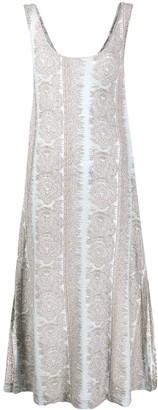 Acne Studios jacquard midi dress