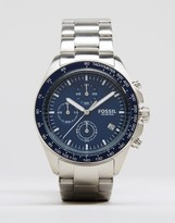 Fossil Chronograph Watch In Stainless Steel Ch3030