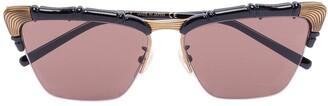 Gucci Cat-Eye Tinted Sunglassess