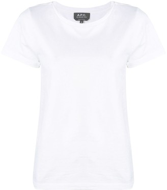 A.P.C. fitted T-shirt