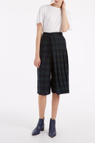 R 13 Layered Plaid Cullotte
