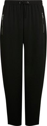 Wallis PETITE Black Relaxed Fit Jogger