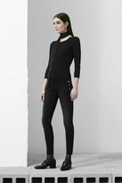J Brand Zion Mid-Rise Skinny w/ Buttons in Defiance