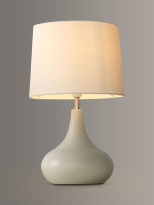 John Lewis & Partners Laura Touch Lamp, Putty