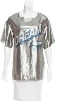 Lanvin Dream Lamé T-shirt