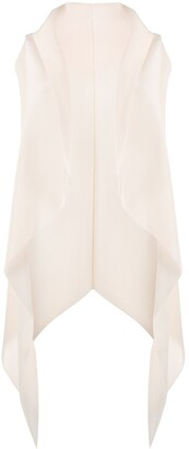 Emporio Armani Draped Waterfall Cardigan