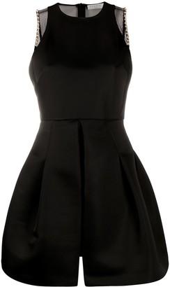 Sandro Gemstone-Trimmed Short Dress