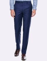 Geoffrey Blue Slim Fit Suit Trousers