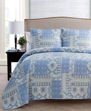 Vcny Home Adisa Patchwork 3-Pc. Full/Queen Quilt Set