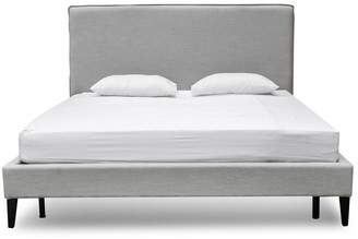 Calibre Furniture Collins Bed Stone Grey King