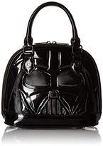 Loungefly Star Wars Darth Vader Patent Mini Dome Top Handle Bag