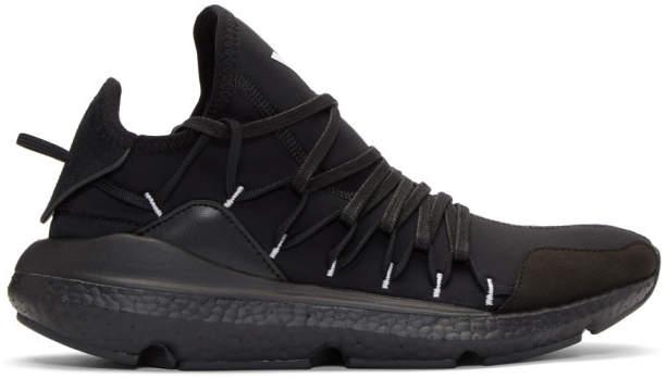 Y-3 Black Kusari Sneakers