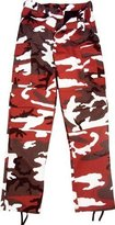 Rothco Camouflage Military BDU Pants, Army Cargo Fatigues (, Size)