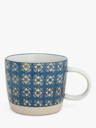 BlissHome Nadiya Hussain Mosaic Mug, 250ml, Blue