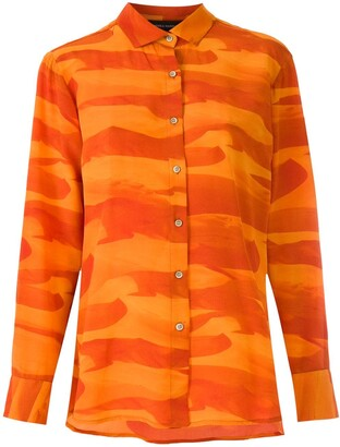 Andrea Marques Deserto silk shirt