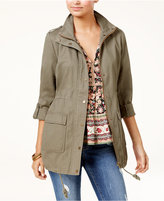American Rag Juniors' Cotton Utility Jacket, Created for Macy's