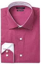 Tailorbyrd Patterned Trim Fit Dress Shirt