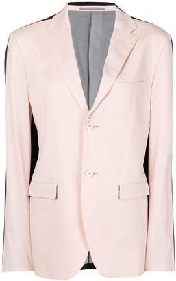Jil Sander Pre-Owned contrasting straight blazer