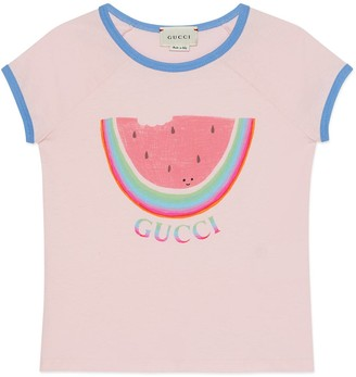 Gucci Children's Alissa Levy print T-shirt