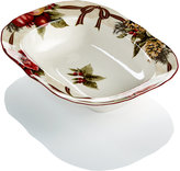 222 Fifth Holiday Yuletide Celebration Oval Vegetable Bowl