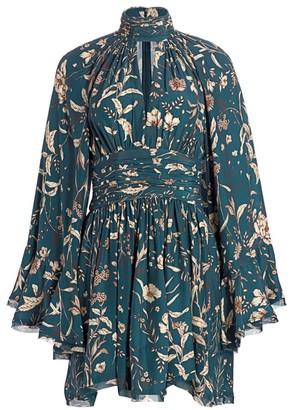 AMUR Tilda Silk Dress