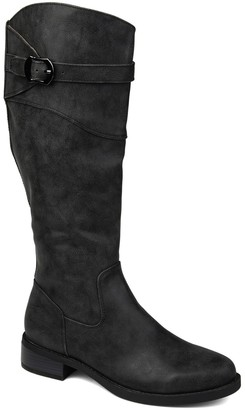Journee Collection Brooklyn Extra Wide Calf Boot