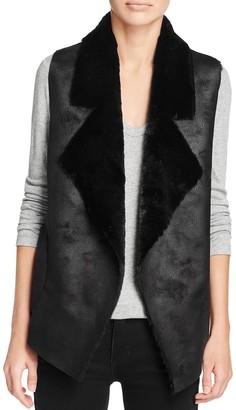 French Connection Women's Winter Rhonda Faux Fur Vest