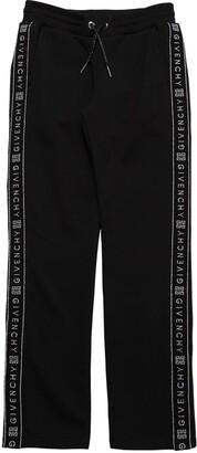 Givenchy Cotton Sweatpants W/ Logo Side Bands