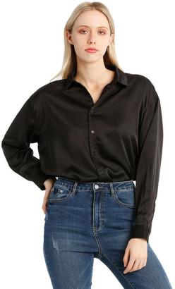 Missguided Satin Shirt