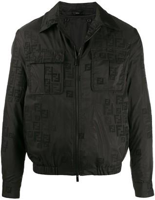 Fendi FF embroidered jacket