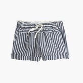 J.Crew Girls' pull-on short in stripe